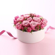 Taça com Rosas