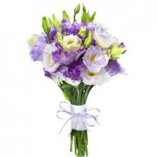 Bouquet de Lisiantus Azuis